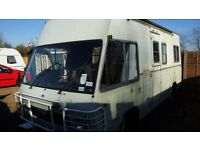relisted due to another time waster /mercedes camper 306d px poss