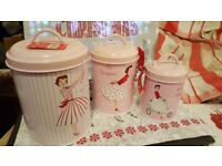 MRS.SMITH'S CANISTER SET,HIGH END QUALITY