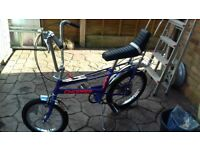 raleigh chopper MK2 ultra violet 1979 ORIGINAL !!!!