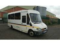 54 Ford Transit 2.4 TD Welfare Bus Disabled Lift Wheelchair Mobility Camper Motocross Minibus Coach
