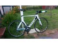 Giant advanced TRINITY TT bike