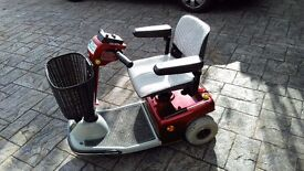Sovereign Standard 888-B3 Mobility Scooter for sale - Very Good Condition and low Usage-Good Battery