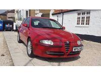 2004 Alfa Remeo 147 1.6 T spark red 3 door motd October 2016,12 service history