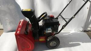 22 In  179 cc Yard Machine Two-Stage Gas Snow Blower Thrower kicks-out 5 HP Fully Tun Up New Oil Change 100% Serviced