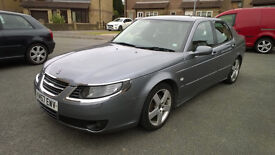 Saab 9-5 95 in grey for sale leather seats low mileage good reliable car 1.9tdi good engine