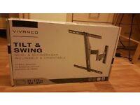 """Vivanco Tilt and Swing TV Wall Bracket 32""""- 47"""""""