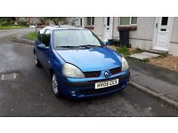 Renault Clio Dynamic 1.4 Electric Blue