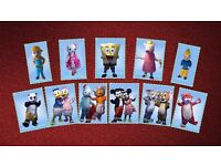 Mascot Hire £30 for the weekend +£50 deposit do have 15 look alike tom & jerry iggle piggle and more