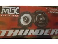 Mtx 5.25 inch coaxial speakers