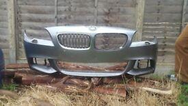 BMW 5 SERIES - MSPORT - F10 F11 - FRONT BUMPER