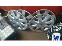 Clio wheel covers 15 inch