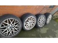 """Dare 18"""" alloy wheels"""
