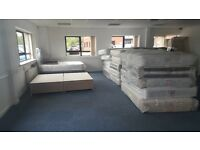 Job lot beds mattresses headboards single double king queen sizes x 106 pieces