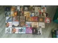 43 cds box and several loose cds