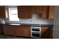 For Sale - Kitchen Units, Doors & Handles - Oak Solid Wood Shaker Style