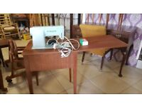 Vintage 1966 Singer Sewing Machine Model 347