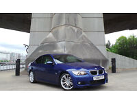 2008 08 BMW 320D M SPORT 2DR AUTO COUPE CREAM LEATHER(PART EX WELCOME)***FINANCE AVAILABLE**