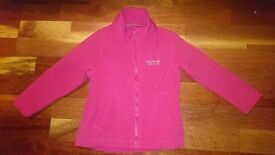 Girls regatta fleece/jacket size 3-4years