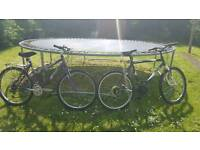 Mountain bikes his and hers 30 each