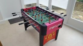 Manchester United Table Football - Man Utd Football Table - Good condition