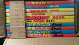MINT Beano and Dandy Annuals.