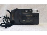 Goldline classic 35mm rangefinder camera flash lomo lomography camera case retro vintage pre digital
