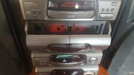 Technics stero perfect working order 120 watt amp acoustic image equalizer singe cd player its great