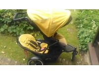 Phil and teds navigator, double buggy, includes rain cover