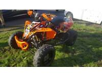Ktm 525 xc road legal quad not raptor ltr ltz can am