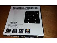 Universal LCD / Plasma TV mount to fit 10'' to 32'' screen. Unused in box.