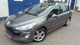 2009 PEUGEOT 308 SW ESTATE 1.6HDI 6-SPD LOW MILEAGE NEW CAMBELT FULL SERVICE