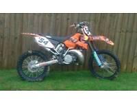 Ktm sx 250 motocross bike 2 stroke not crf yzf kxf rmz kx cr rm quad
