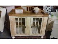 Pine/Cream Sideboard