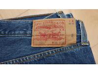 Levis 501 jeans, new, W36 L36