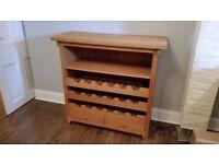 Wine and storage rack