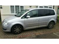 7 seater v w touran for sale