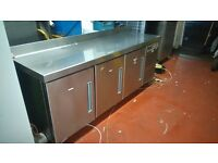 Fagor MSN-200 CL Commercial Counter Freezer In Stainless Steel