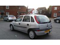 Vauxhall corsa. Diesel. 1 year mot. Service history 5 doors