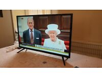 BOXED Ferguson 32 inch smart full hd led tv with wifi, freeview and freeview play