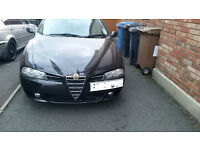 Alfa 156 facelift 2 Litre .. 2004,Mot till sept 17.. Big service folder.( I NEED VAN. SWAPZ)