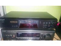 Sony minidisc mini disc recorder / player. hifi separate.