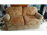 2 seater chunky sofa.