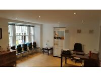 Westend Treatment room available - situated in a well lit basement with a very presentable exterior