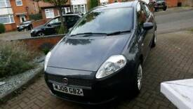 2008 Fiat Grande Punto Active 1.2. Low Mileage. Ideal First Car!
