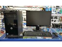HP PRO, Intel Core i5-3470 3.20 GHz, 8GB RAM, 500GB HDD, Radeon Graphics, HDMI, Windows 10 PRO