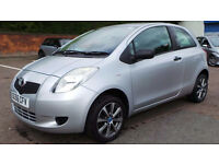 2007 56 TOYOTA YARIS 1.0 T2 3DR MOT 01/17(PART EX WELCOME)