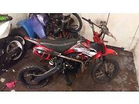 Crf50 yx140 pit bike