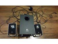 Logitech Multimedia Speakers 2.1 Z213 SUB WOOFER AUDIO