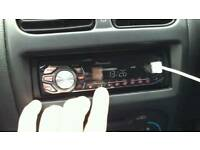 Pioneer 50x4 USB Aux Mp3 car stereo car radio tuner car headunit car cd player MINT!