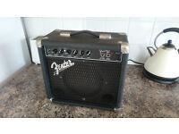 Fender Frontman 15 Watt Amp - Made In Mexico